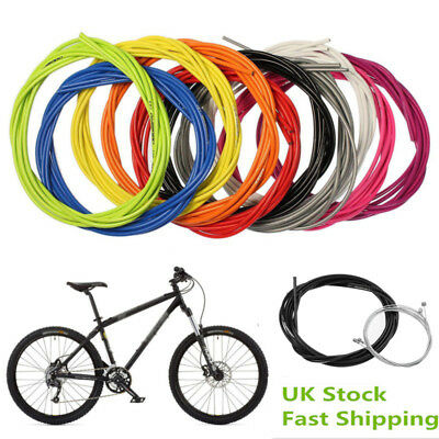 MTB Road Bike Jagwire Front & Rear Inner Outer Wire Gear Brake Cable 5 Color UK