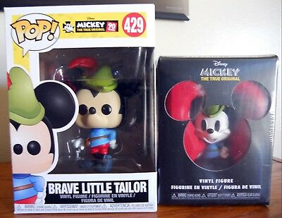 MICKEY/'S 90TH-Brave Little Tailor FUNKO POP Vinyl Figure #429 DISNEY