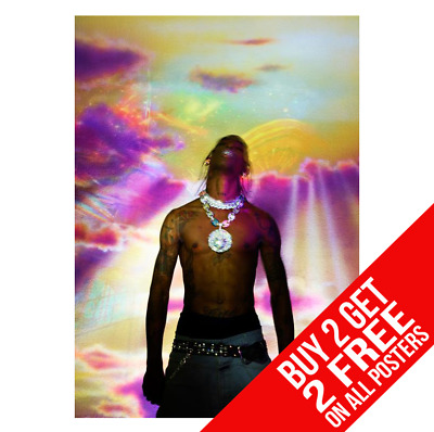 Travis Scott Astroworld Poster A3 A4 Size Dd2 Print - Buy 2 Get Any 2 Free