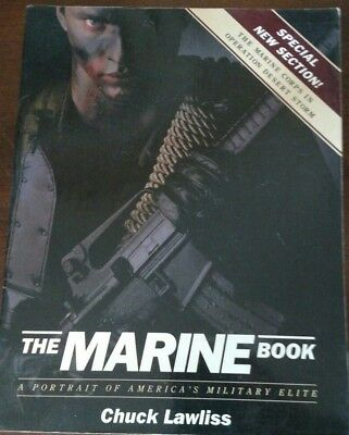 The Marine Book - Operation Desert Storm - SC Book - Potrait Military Elite