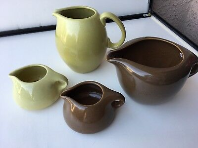 4 Pcs - Vintage Russel Wright Iroquois Mid-Century Modern.  All Marked On Bottom