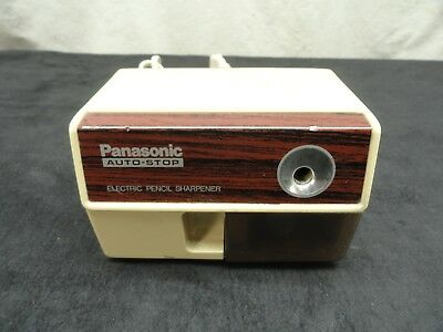 Panasonic KP-110 Auto-Stop Electric Pencil Sharpener Tested  Made in Japan