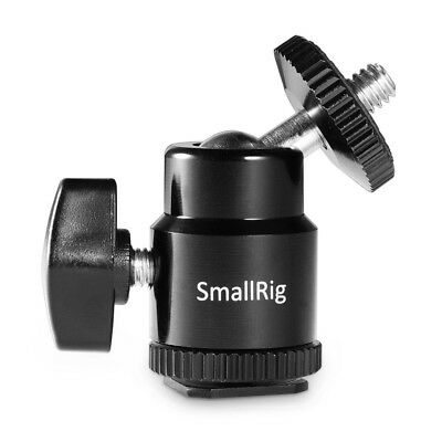 """SmallRig LCD Monitor Shoe Adapter 1/4"""" Camera Hot Shoe Mount with 1/4"""" Screw 761"""
