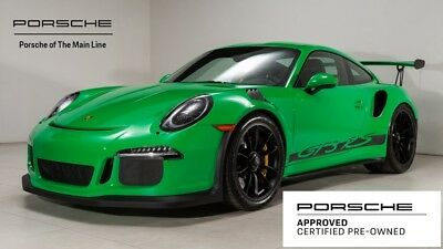 2016 911 GT3 RS 2016 Porsche 911 GT3 RS 5,203 Miles PTS: SIGNAL GREEN 2D Coupe H6 7-Speed Porsch