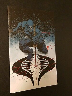 GI Joe #3 Dave Johnson Retailer Incentive Snake Eyes Cover! IDW NM