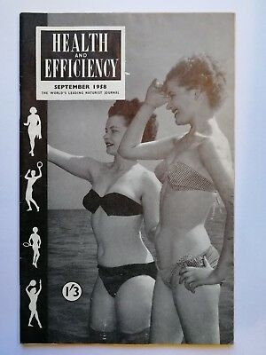 Health And Efficiency Magazine September 1958
