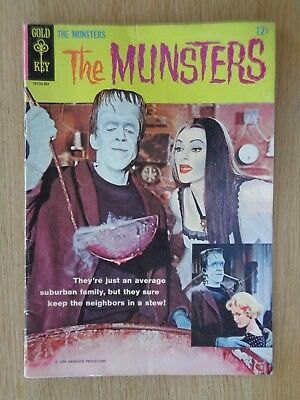 RARE - The Munsters No. 1 - Vintage Gold Key Comic from 1964.