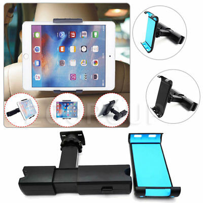 "Universal Car Mount Seat Headrest Tablet Holder For iPad Samsung 8-10.1"" Tablets"