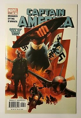 CAPTAIN AMERICA #6 1st Appearance WINTER SOLDIER
