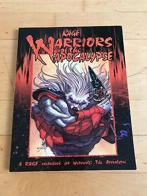 Werewolf: the Apocalypse - RAGE - Warriors of the Apocalypse - Topzustand!