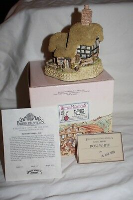 David Winter Cottages Blossom Cottage May Original Box