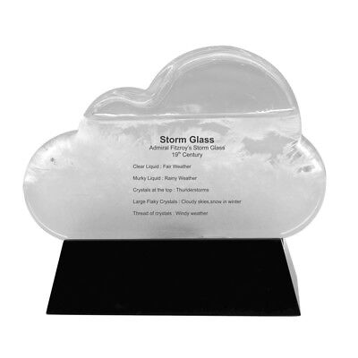 Storm Cloud Glass Bottle Device Fitzroy Barometer Weather Forecaster