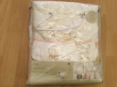 baby curtains  with tie back -M&S in original packing