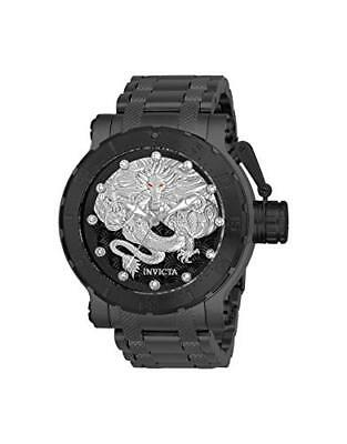 Invicta Men's Coalition Forces Automatic 3 Hand Black, Silver Dial Watch 26512