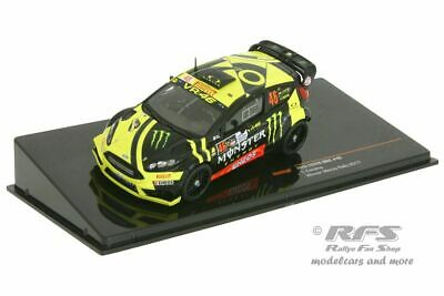 Ford Fiesta RS WRC  Valentino Rossi  Rallye Monza 2017 MONSTER  1:43 IXO RAM 658