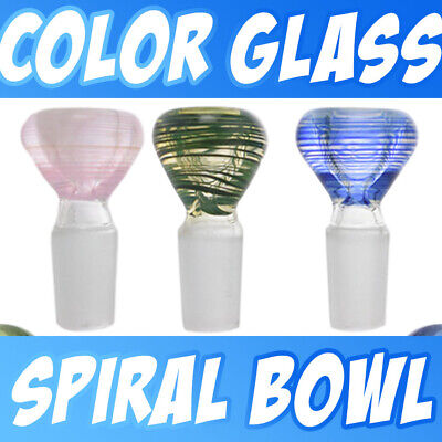 Thick Funnel Snapper Assorted Color Glass Slide Bow 14mm 18mm Free Shipping