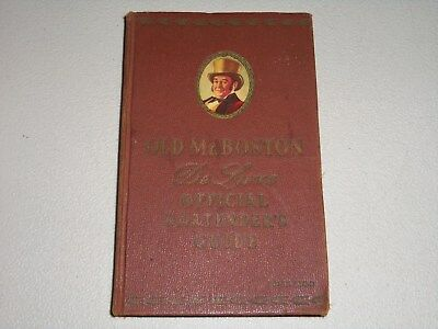 1959 OLD Mr. BOSTON DeLuxe OFFICIAL BARTENDER'S GUIDE BOOK
