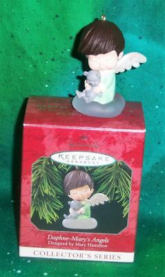 New Retired 1998 Hallmark Mary's Angels Daphne 11Th Collector's Series Ornament