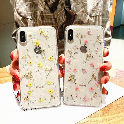 Crystal Diamond Cover Case For iPhone X 6 6s 7 Plus Case With Ring Phone Holder