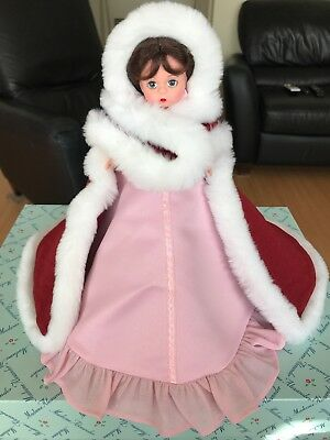 Disney Gallery Vintage Madame Alexander Winter Belle Christmas Tree Topper Doll