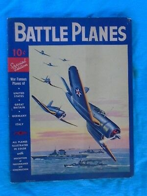 Battle Planes 1941edition, Dell Publishing, WWII home front