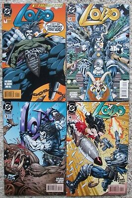 LOBO comic book collection - #1 to #55 - 46 books - NM