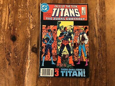 Tales Of The Teen Titans #44 (DC 1984) 1st Appearance of Nightwing KEY ISSUE .
