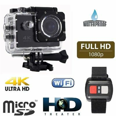 Gopro Q3 Emd Sport Action Camera 4K Wifi Ultra Hd16Mp Video + Telecomando Cam 4K