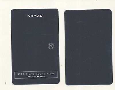 "new from--""NoMad""--replaces Hotel 32-at---PARK MGM--Las Vegas,NV---Room key"