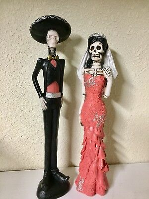 Day Of The Dead Catrina Bride & Groom