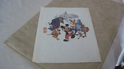 Original Walt Disney Promotion/Animation Art/ Mickey Mouse and Friends