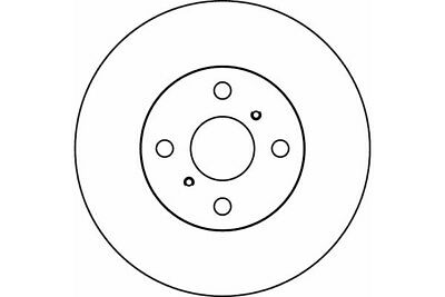 Mdc1394 Mintex Brake Discs Internally Vented ,Oe Quality Brake Discs 255 Mm