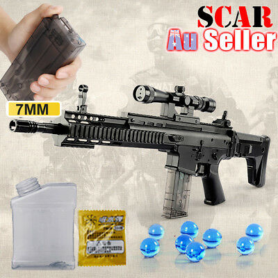 Police Pistol Water Crystal Gel Ball Bullet Sniper Kids Army Weapon