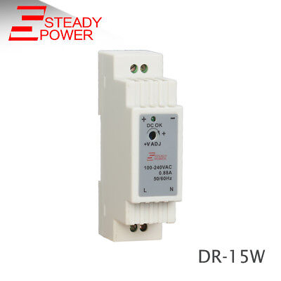 Hot sales China mainland 15w 12v 1A Din Rail power supply led transformer