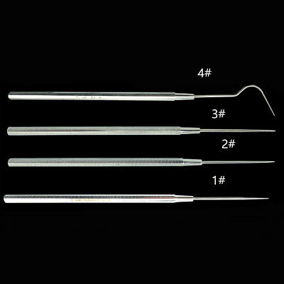 4pcs Dental lab Equipment Stainless Steel  Root canal filling device Repairing