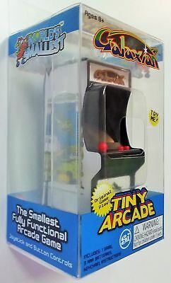 NEW / SEALED Tiny Arcade GALAXIAN Miniature Arcade Game - AUTHENTIC!!