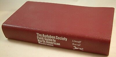 Audubon Field Guide to North American Mushrooms by Lincoff - 2nd Printing - 1984