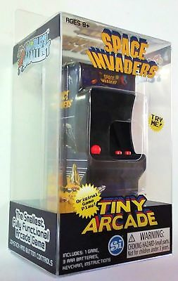 Space Invaders Tiny Arcade Game Fully Functional Original Sound Joystick Buttons