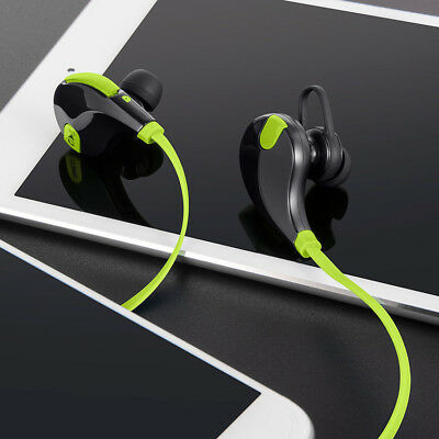 Bluetooth Headset Wireless Sport Stereo Headphones Sweatproof Earphone Earbuds