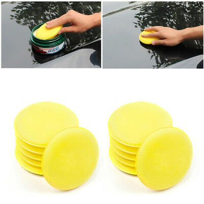 Foam Wax Sponge Applicator Pad Vehicle Glass Cleaning Car Styling Accessories