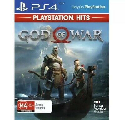 God of War PS4 game playstation 4 new sealed uk freepost