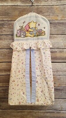 Classic Winnie The Pooh Diaper Stacker Hanging Organizer Vintage 1997 Nursery