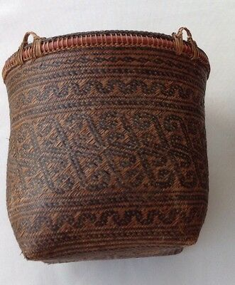 Collectible Dayak Basket: Good Condition
