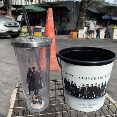 FANTASTIC BEASTS 2 The Crimes of Grindelwald Popcorn Bucket Cup Movie Film THAI