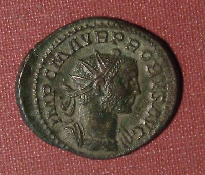 276 Ad Ancient Roman Bronze, Probus - Great Looking Coin, Ric 42, Seer 11994!