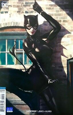 Catwoman, Present, #1B - Stanley Artgerm Lau Variant Cover