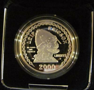 2000-P Leif Ericson Millennium  GEM CAMEO PROOF Commemorative Silver Dollar (BK)