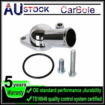 45° Chrome Plated Water Neck Thermostat Housing Parts for chevy big block(V8) V6