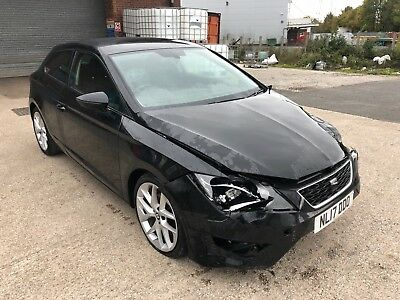 2017 - 17 - Seat Leon Fr 1.4 Tsi Technology Damaged Repairable Salvage