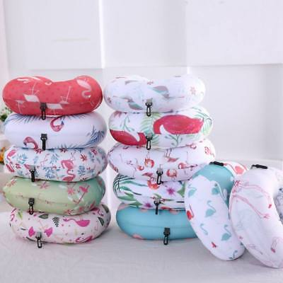 U Shaped Travel Memory Foam Neck Pillow Support Head Rest Airplane Cushion Gift